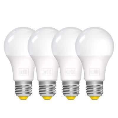 60-Watt Equivalent A19 Dimmable Brilli Wind Down Relaxing Evening LED Light Bulbs in White (4-Pack)