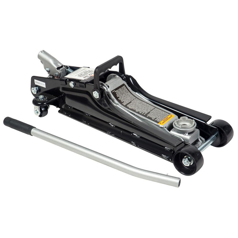 2.5-Ton Low Profile Floor Jack - Car Hydraulic Trolley Jack Lift for Home Garage Shop