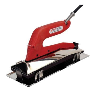 Deluxe Heat Bond Carpet Iron with Non-Stick, Grooved Base