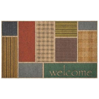 Welcome Impressions 18 in. x 30 in. Ornamental Entry Mat