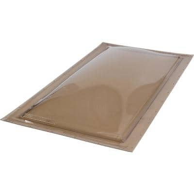 22-1/2 in. x 46-1/2 in. Fixed Self Flashing Polycarbonate Skylight