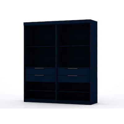 Ramsey Tatiana Midnight Blue Open 2-Sectional Closet (Set of 2)
