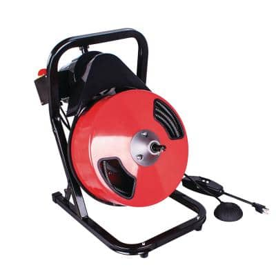 1/2 in. x 50 ft. Compact Drain Cleaner Machine