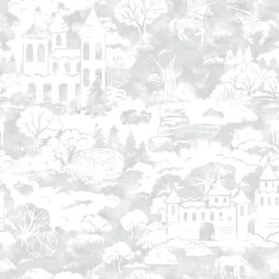 Quiet Kingdom Spray and Stick Wallpaper (Covers 56 sq. ft.)