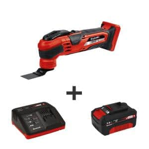PXC 18-Volt Cordless Variable-Speed 20,000-OPM Oscillating Multi-Tool Kit (with 3.0-Ah Battery Plus Fast Charger)