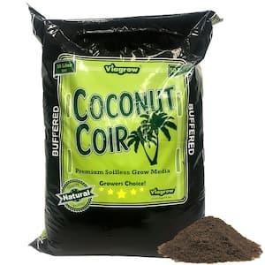 1.5 cu. ft. Coco Coir Buffered Premium Coconut Growing Medium 50L./52.8 qt./13.2 G.