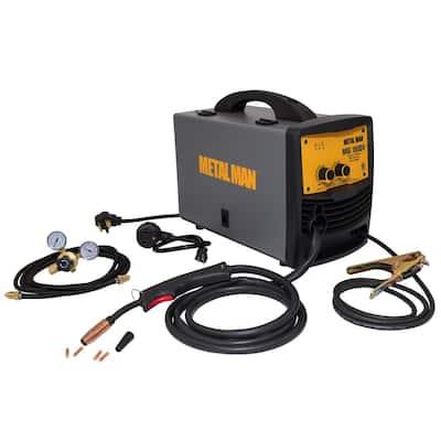 180 Amp Input Power 120-Volt/240-Volt Dual Voltage MIG and Flux Core Wire Feed Welder