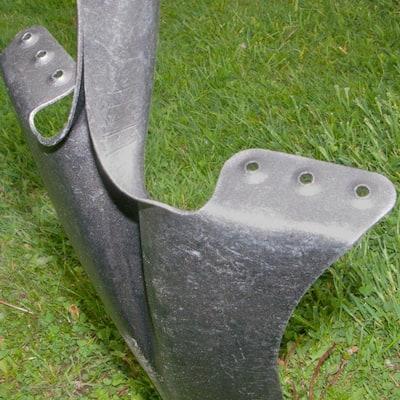 16 in. D-Handle Drain Spade