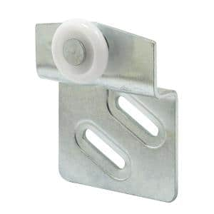 By-pass Closet Door Top-Hung Front Rollers and Brackets, Atlas (2-pack)