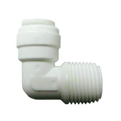 AquaLock 1/2 in. Plastic 90-Degree MIP Elbow