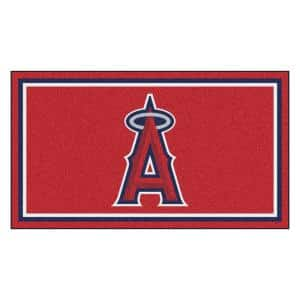 MLB - Los Angeles Angels 3 ft. x 5 ft. Ultra Plush Area Rug