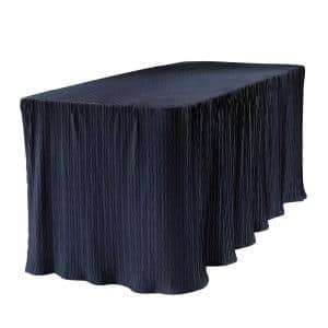 6 ft. Blue Table Cloth Made for Folding Tables