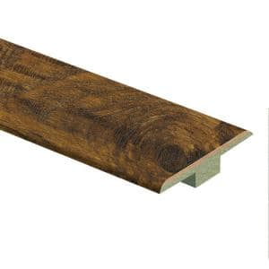 Light Hickory 9/16 in. Thick x 1-3/4 in. Wide x 72 in. Length Laminate T-Molding