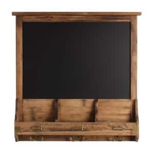 Stallard Rustic Brown Multi Function Chalkboard Memo Board