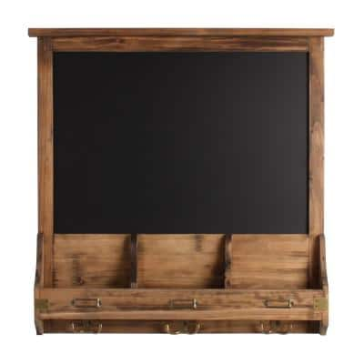 Stallard Rustic Brown Multi Function Chalkboard Memo Board