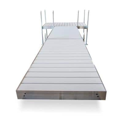 20 ft. T-Style Aluminum Frame with Aluminum Decking Platinum Series Complete Dock Package