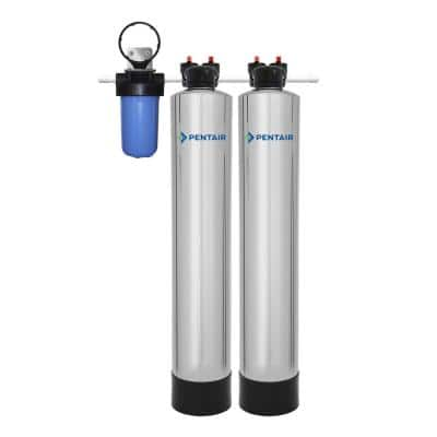 10 GPM Whole House Water Filtration and NaturSoft Water Softener Alternative System