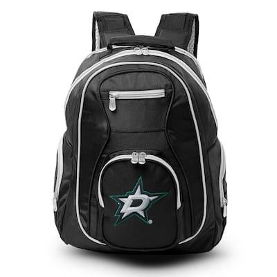 NHL Dallas Stars 19 in. Black Trim Color Laptop Backpack