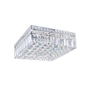 Colosseum 5-Light Chrome Flush Mount