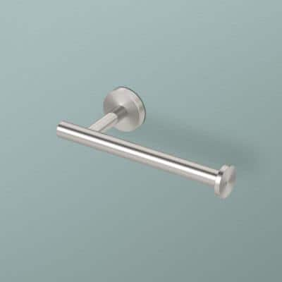 Level Toilet Paper Holder in Brushed Nickel
