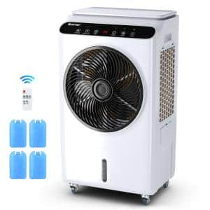 2100 CFM 3-Speed Portable Evaporative Cooler for 700 sq.ft.