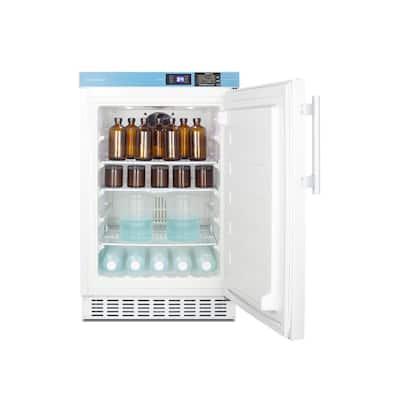 2.68 cu. ft. Vaccine Mini Refrigerator in White without Freezer, ADA Compliant