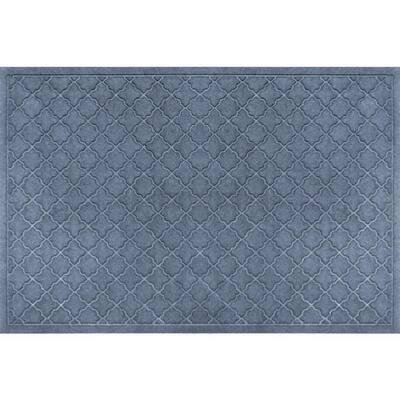 Aqua Shield Cordova Bluestone 3 ft. x 5 ft. Doormat