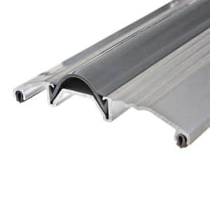 3-3/4 in. x 72 in. Wide Aluminum Silver Threshold