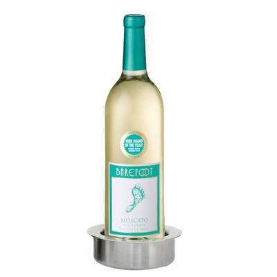 Chilling Wine Bottle Coaster