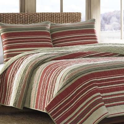 Yakima Valley Striped Quilt Set