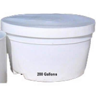200 Gallon Bait Tank