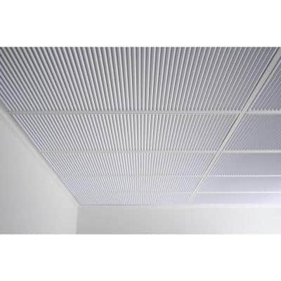 Polyline White Feather-Light 2 ft. x 4 ft. Lay-in Ceiling Panel (Case of 10)