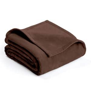 Plush Sage Polyester King Blanket