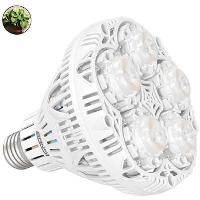 24-Watt 1830 Lumens A21 Full Spectrum Hydroponic LED Grow Light Bulb (1-Bulb)
