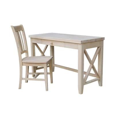 Unfinished Wood Desks Home Office, Unfinished Furniture Desk
