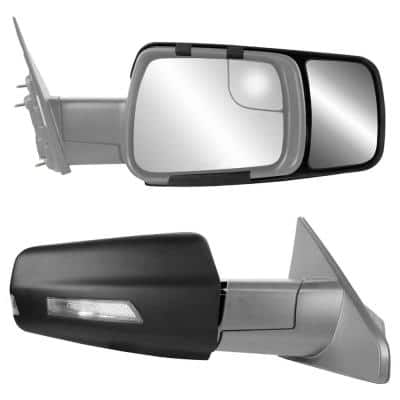 Clip-on Towing Mirror Set for 2019 Plus Ram 1500