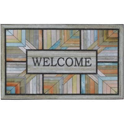 Colorful Roots 18 in. x 30 in. Doorscapes Mat