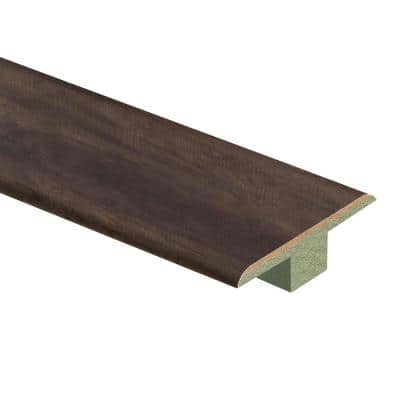 Burlington Hickory 7/16 in. Thick x 1-3/4 in. Wide x 72 in. Length Laminate T-Molding