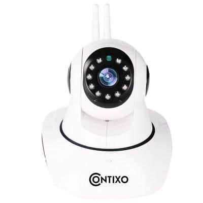 HD/Wi-Fi Camera Home Rectangle Surveillance System with Remote Viewing Access