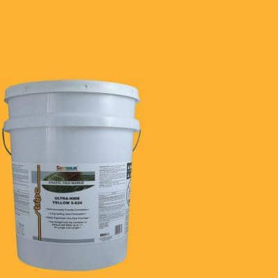 5 gal.  Yellow Athletic Field Marking Paint Pail