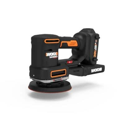 PowerShare 20-Volt Cordless 5 in. 1 Sandeck Multi-Sander with 5 Sanding Bases (Battery and Charger Included)