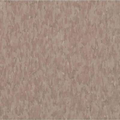 Imperial Texture VCT 12 in. x 12 in. Rose Hip Standard Excelon Commercial Vinyl Tile (45 sq. ft. / case)