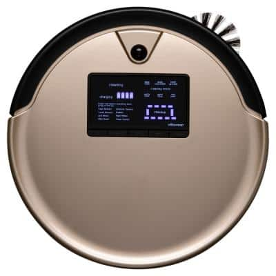 PetHair Plus Robotic Vacuum Cleaner and Mop, Champagne