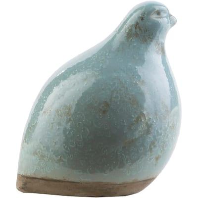 Bawaro 5.71 in. x 6.5 in. Decorative Bird Sculpture in Sage