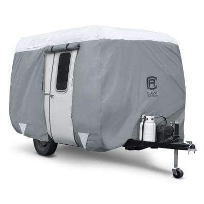 PolyPro III Molded Fiberglass 194 in. L x 80 in. W x 84 in. H Travel Trailer Cover