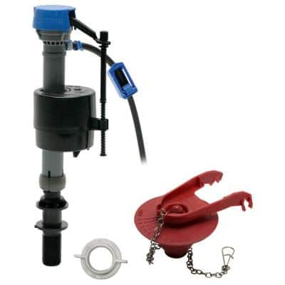 PerforMAX Universal High Performance Toilet Fill Valve and 2 in. Flapper Repair Kit