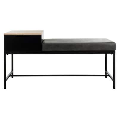 Maruka Light Gray/Gray Storage Bench