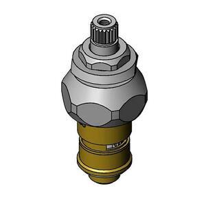 Quarter-Turn Cerama Cartridge with Check Valve and Escutcheon Bonnet LTC (Cold)