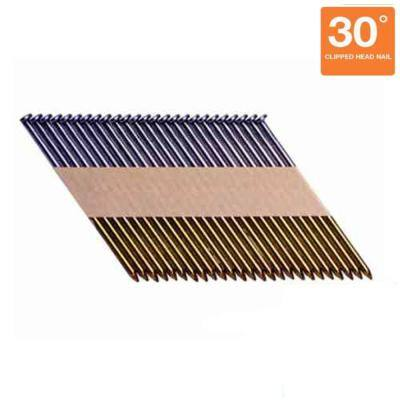 3 in. x 0.120 in. Paper Collated Smooth Framing Nails (1,000 per Pack)