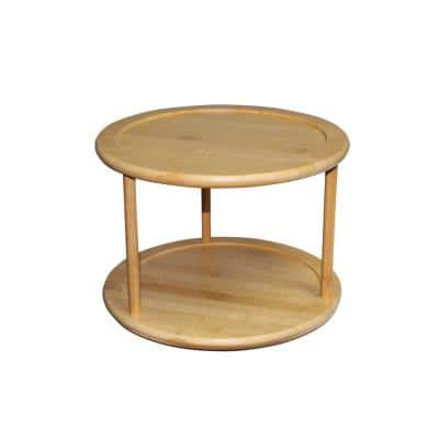 Bamboo 2-Tier Lazy Susan